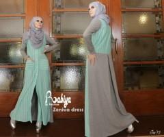 Pusat Grosir Busana Muslim Zeniva Dress by Rabiya
