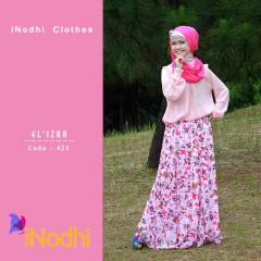 Tren Busana Muslim Terbaru 2015 Suit El'izha by Inodhi 425