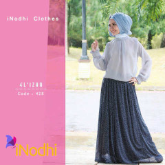 Tren Busana Muslim Terbaru 2015 Suit El'izha by Inodhi 428