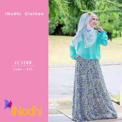Tren Busana Muslim Terbaru 2015 Suit El'izha by Inodhi 435