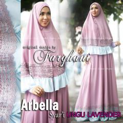 Trend Busana Muslim Syar'i Menyusui Arbella by Farghani Ungu