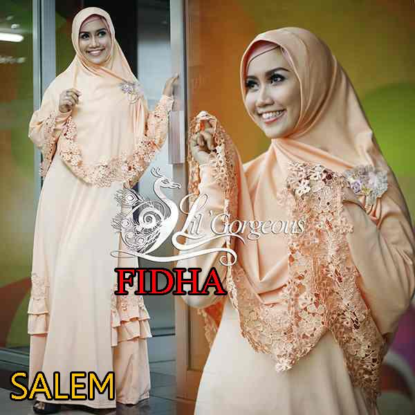 Trend Busana Muslim Wanita Syar'i Fidha by Lil Gorgeouse Salem