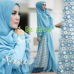 Trend Busana Muslim Wanita Terbaru Raisa Syar'i by Be Glow Blue