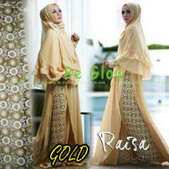 Trend Busana Muslim Wanita Terbaru Raisa Syar'i by Be Glow Gold