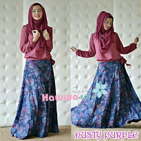 Trend Terbaru Baju Setelan Zara by Hawwaaiwa Dusty Purple