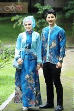 Trend Terbaru Busana Couple Kamanjaya Kamaratih by Fitria Style Blue