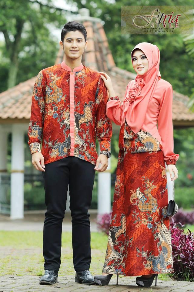 Trend Terbaru Busana Couple Kamanjaya Kamaratih by Fitria Style Peach