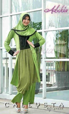 Trend Terbaru Busana Muslim Wanita Callysta by Adzkia Green