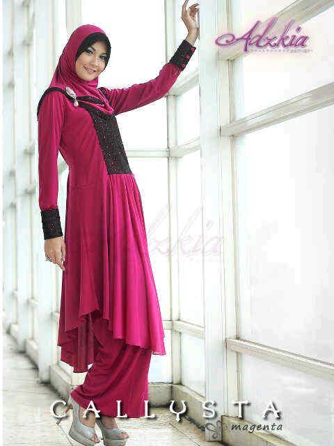 Trend Terbaru Busana Muslim Wanita Callysta by Adzkia Magenta
