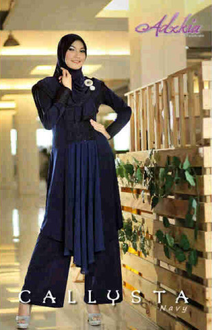 Trend Terbaru Busana Muslim Wanita Callysta by Adzkia Navy
