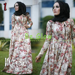 Trend Terbaru Busana Muslim Wanita Misca Dress by Be Glow 1