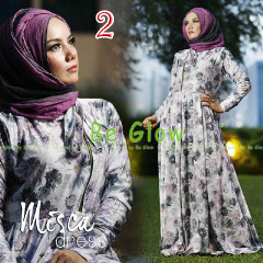 Trend Terbaru Busana Muslim Wanita Misca Dress by Be Glow 2
