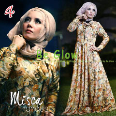 Trend Terbaru Busana Muslim Wanita Misca Dress by Be Glow 4