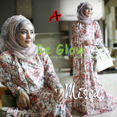 Trend Terbaru Busana Muslim Wanita Misca Dress by Be Glow A