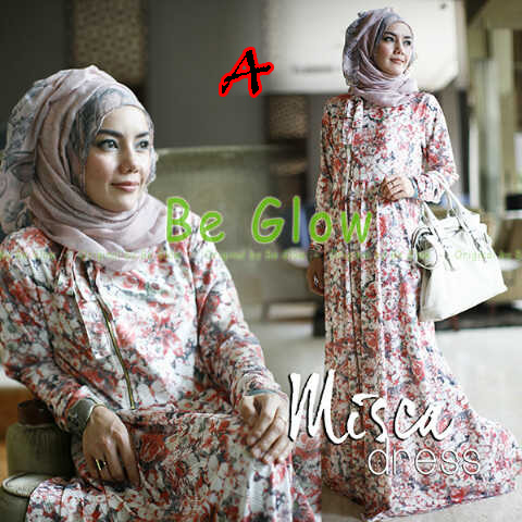 Trend Terbaru Busana Muslim Wanita Misca Dress by Be Glow A