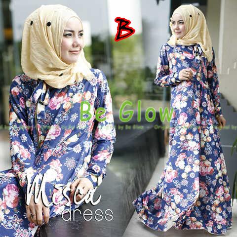 Trend Terbaru Busana Muslim Wanita Misca Dress by Be Glow B
