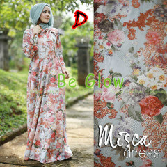 Trend Terbaru Busana Muslim Wanita Misca Dress by Be Glow D