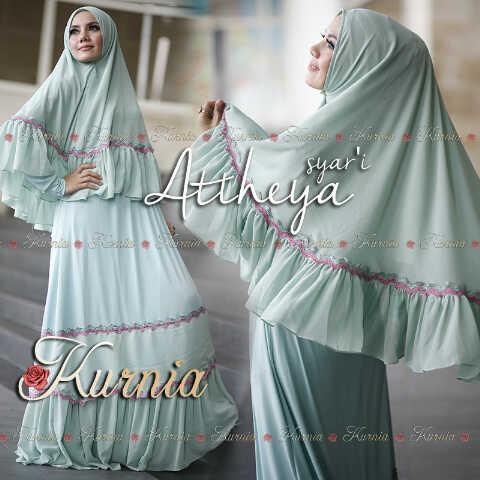Busana Muslim Syar'i Terbaru 2015 Attheya by Kurnia Mint