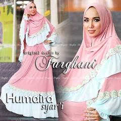 Busana Muslim Syar'i Terbaru Humaira by Farghani Pink