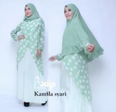 Busana Muslim Terbaru Kamila Syar'i by Rabiya Green