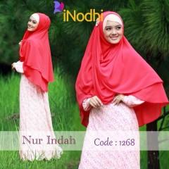 Busana Muslim Terbaru Nur Indah by Inodhi 1268