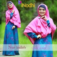 Busana Muslim Terbaru Nur Indah by Inodhi 1269