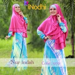 Busana Muslim Terbaru Nur Indah by Inodhi 1270