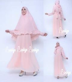 Busana Muslim Terbaru Salwa Syar'i by Rabiya Pink