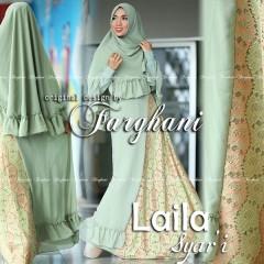 Busana Muslim Trend Terbaru Laila Syar'i by Farghani Green