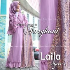 Busana Muslim Trend Terbaru Laila Syar'i by Farghani Lavender