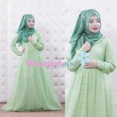 Busana Muslim Trend Terbaru Quentin by Hawwaaiwa Green