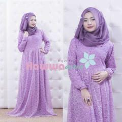 Busana Muslim Trend Terbaru Quentin by Hawwaaiwa Lavender