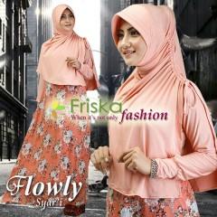 Busana Muslim Wanita Terbaru Flowly Syar'i by Friska Salem