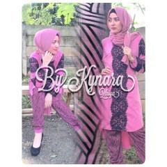 Busana Muslim Wanita Terbaru Qhiya by Kybarra Fanta