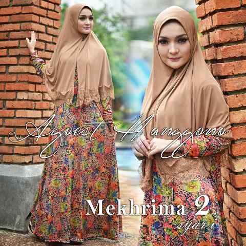 Busana Muslimah Terbaru Mekhrima vol.2 by Agoes Hanggono COklat