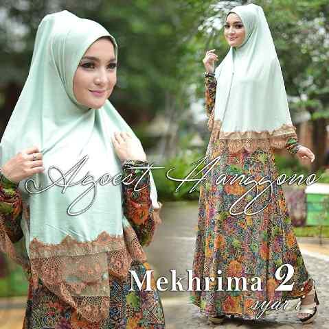 Busana Muslimah Terbaru Mekhrima vol.2 by Agoes Hanggono Hijau Mint