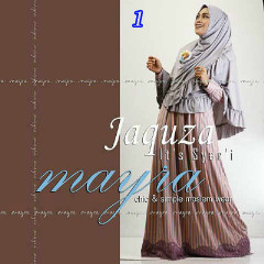 Koleksi Busana Muslim Syar'i Jaquza by Mayra 1