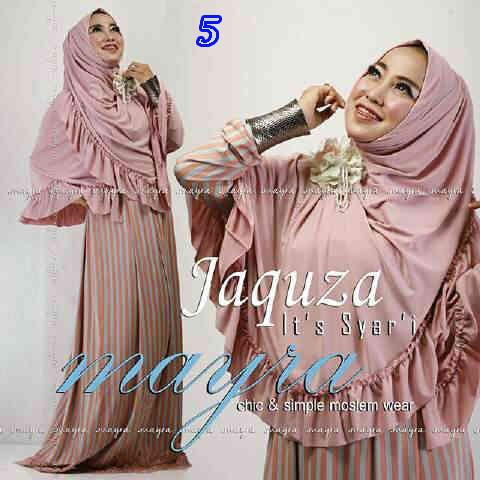 Koleksi Busana Muslim Syar'i Jaquza by Mayra 5