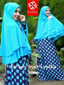 Koleksi Busana Muslim Terbaru De'key by Layra Blue