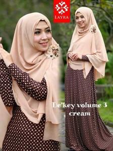 Koleksi Busana Muslim Terbaru De'key by Layra Cream