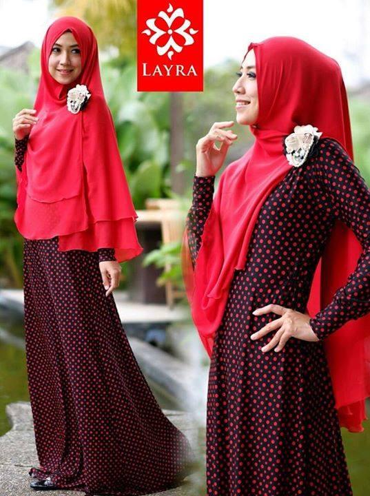 Koleksi Busana Muslim Terbaru De'key by Layra Red