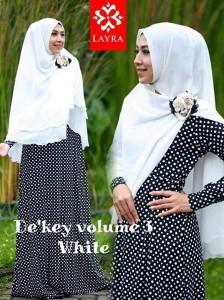 Koleksi Busana Muslim Terbaru De'key by Layra White