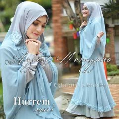 Koleksi Busana untuk Ibu Menyusui Hurrem Syar'i by Agoes Hanggono Blue