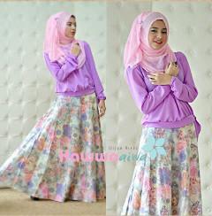 Koleksi Terbaru Busana Muslim Atas Bawah Zara by Hawwaaiwa Lavender