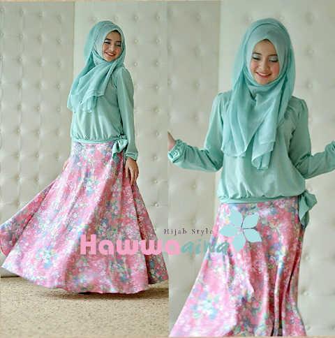 Koleksi Terbaru Busana Muslim Atas Bawah Zara by Hawwaaiwa Mint