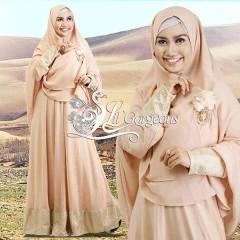 Model Terbaru Busana Muslim Syar'i Snow Dress Syar'i by Lil Gorgeous Salem
