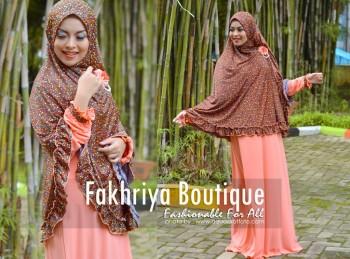 Trend Busana Muslim Syar'i Menyusui Khadija by Fakhriya Salem