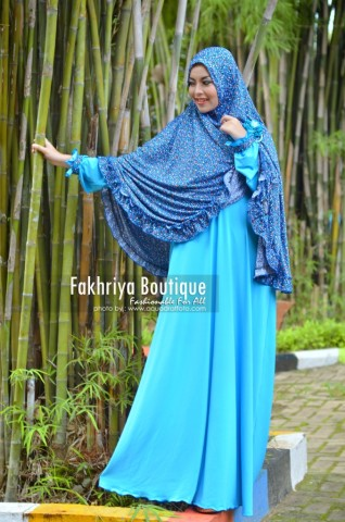 Trend Busana Muslim Syar'i Menyusui Khadija by Fakhriya Turquise