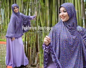 Trend Busana Muslim Syar'i Menyusui Khadija by Fakhriya Ungu