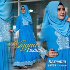 Trend Busana Muslim Wanita Modern Kareema by Agyna Biru